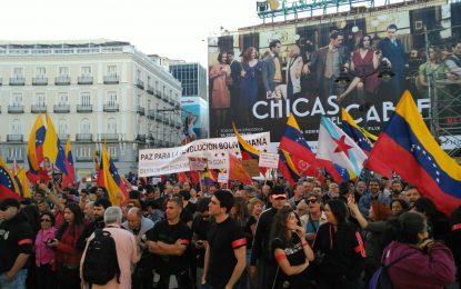 Organizaciones sociales y políticas de España apoyan solidariamente a la Revolución Bolivariana
