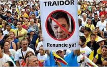 Lo que no muestran los medios internacionales: Las protestas en Colombia