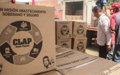 EEUU bloquea importaciones de alimentos destinados a los Clap