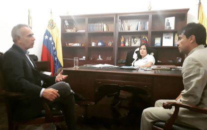 Freddy Bernal y Laidy Gómez se reúnen para trabajar por el Táchira