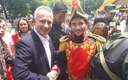 205 años después las venezolanas y los venezolanos conservamos el mismo espíritu de Bolívar por la independencia y la libertad
