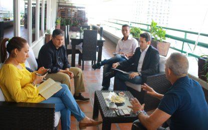 Bernal: estamos afinando estrategias para cumplir el mandato del Presidente Nicolas Maduro de profundizar los planes sociales