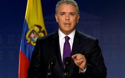 Presidente de Colombia Iván Duque continua planes de agresión militar contra Venezuela