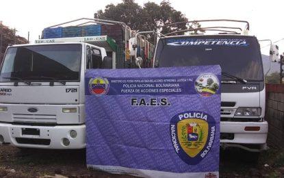 3 ciudadanos capturados y 6 vehículos retenidos por delitos económicos en frontera colombo venezolana