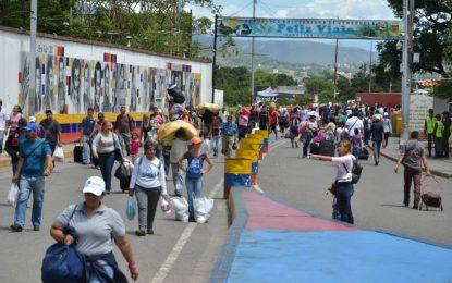 """Freddy Bernal: """"En Venezuela trabajamos para que el paso fronterizo sea seguro y en paz"""""""