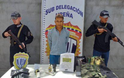 GNB y CICPC capturan a paramilitar y dan de baja a otro de la banda El Paisa en frontera colombo venezolana