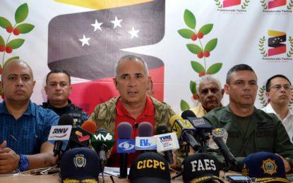 """ONA: """"El Táchira es el segundo estado que encabeza la lucha contra el narcotráfico"""""""