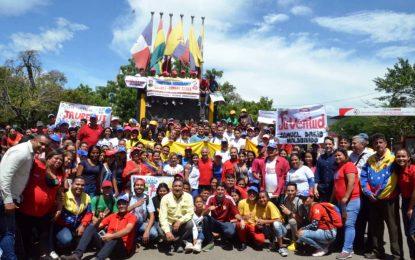 Jóvenes del PSUV de Táchira se comprometen a materializar el Socialismo