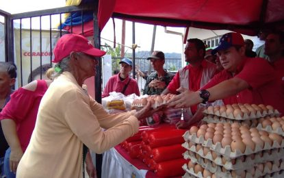 En Táchira: Más de 1.400 familias son abastecidas por la Misión Mercal