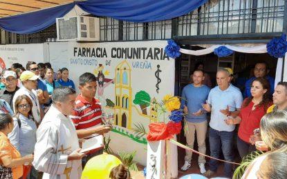Pueblo de Ureña inaugura Farmacia dotada con más de 80 medicamentos