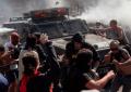 """Bernal: """"Resiste pueblo de Chile"""""""