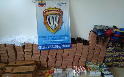 El CICPC desarticula depósito de venta ilegal de artículos infantiles y juguetes