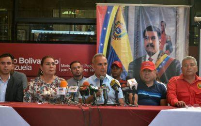 """Bernal: """"Vislumbramos un 2020 de victorias para la Revolución Bolivariana"""""""