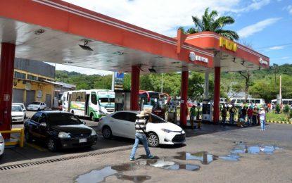 Suspenden abastecimiento de combustible por terminal de placa