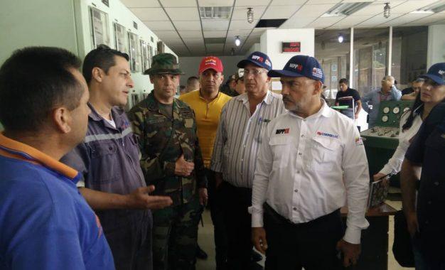 Ministro Freddy Brito revisó procesos para superar eventualidades en el suroccidente del país
