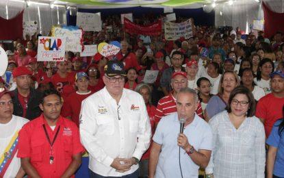 """Bernal: """"Los CLAP llegan cada mes de manera regular con transparencia a más de seis millones de familias"""""""