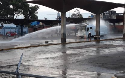 Inicia plan de Desinfección en zonas vulnerables del Táchira