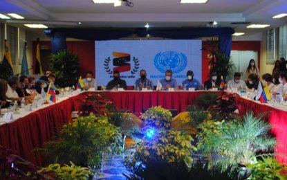 ONU verifica atención y aplicación de protocolo contra la Covid-19 a connacionales en PASI de Táchira
