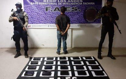 FAES incauta 20 kilos de presunta cocaína de la banda Los José