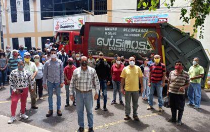Recuperados camiones de recolección de desechos sólidos en Guásimos