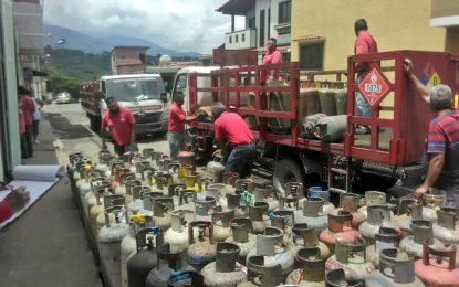 Aumenta despacho de Gas Doméstico en las zonas vulnerables