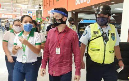 Detenido el gerente del Hipermercado Garzón por incumplir normas de bioseguridad