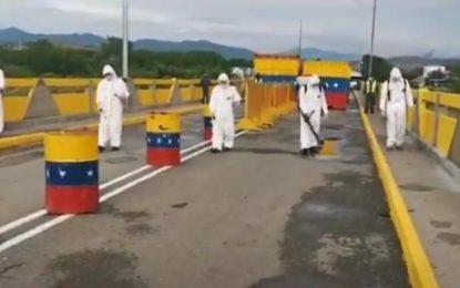 Neutralizan riesgos de contagio de la Covid-19 en el Puente Internacional Simón Bolívar