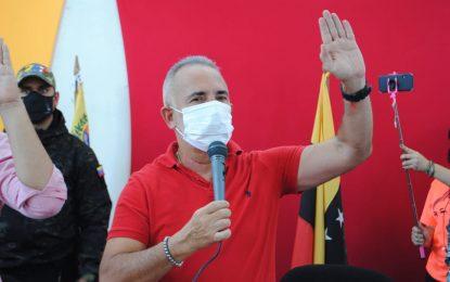 Bernal juramenta al Comando de Campaña Territorial Darío Vivas de Torbes