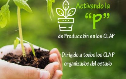 """La GMAS invita al concurso Activación de la """"P"""" de Producción de los CLAP"""