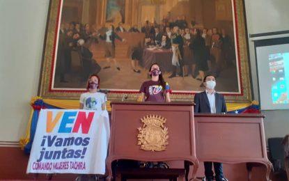 """""""Mujeres patriotas estaremos al frente del rescate de la Asamblea Nacional"""""""