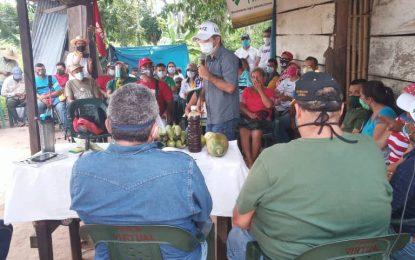 """Rosales Aleta: """"Los productores darán la batalla final al bloqueo junto a la nueva AN"""""""