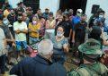 Gobierno Bolivariano atiende familias afectadas por la crecida del río Carapo en Táchira