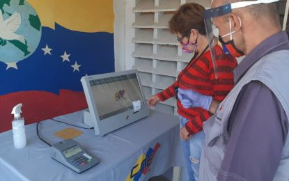 31 centros pilotos habilitarán para el segundo simulacro electoral en Táchira