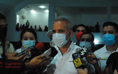 Bernal entrega a estructura del PSUV kit de bioseguridad para elecciones del 6D