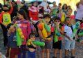 Niños y niñas en Cárdenas recibieron regalos navideño