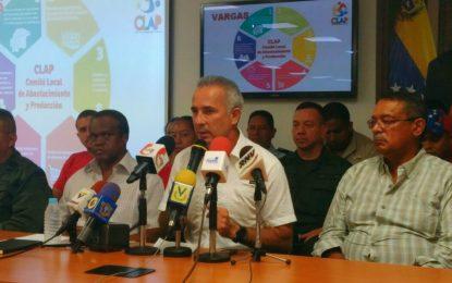 Bernal: ha comenzado la verificación nacional de los CLAP