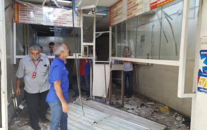 14 zonas de Cumaná fueron objeto de vandalismo