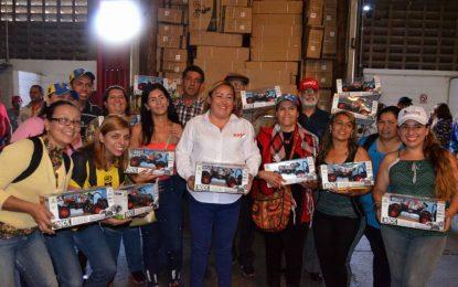 Más de 400 mil juguetes entrega el Protectorado a niños y niñas del Táchira