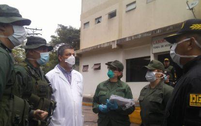 Unión cívico militar policial aplica protocolo de prevención y protección de la Covid-19 en Ureña