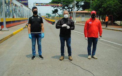 Jornada de limpieza y desinfección se desarrolló en varios municipios de Táchira