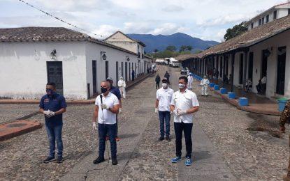 Las Bricopt efectuaron jornada de limpieza y desinfección en los municipios Junín y San Fernando