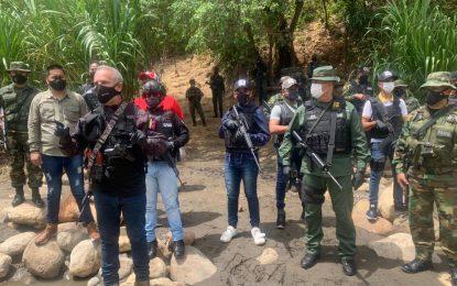 En la frontera con Colombia desbaratan teleférico binacional irregular
