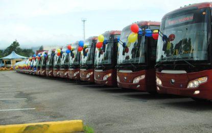 Treinta autobuses Yutong fortalecerán el servicio de Transtáchira