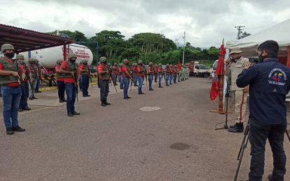 Creado Cuerpo de Combatientes para la defensa de las plantas de Gas en Táchira