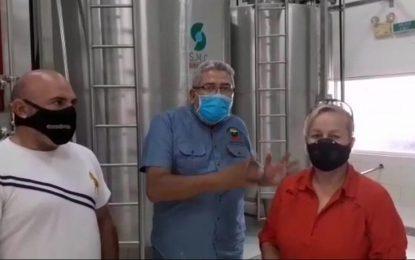 La Planta Procesadora de Leche El Libertador reinicia su operatividad