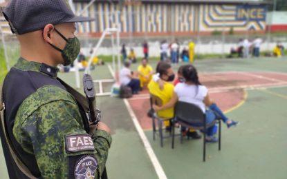 Familiares y privados de libertad oraron por Venezuela