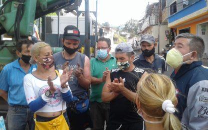 85 familias de Sabaneta ya tienen fluido eléctrico