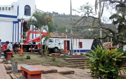 Corpoandes continúa embelleciendo espacios religiosos e históricos del Táchira