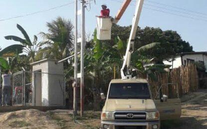 Fuerza trabajadora sustituye 4 transformadores y ejecuta mantenimientos correctivos en Táchira