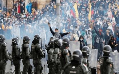 Maduro insta a ONU a pronunciarse por represión en Colombia